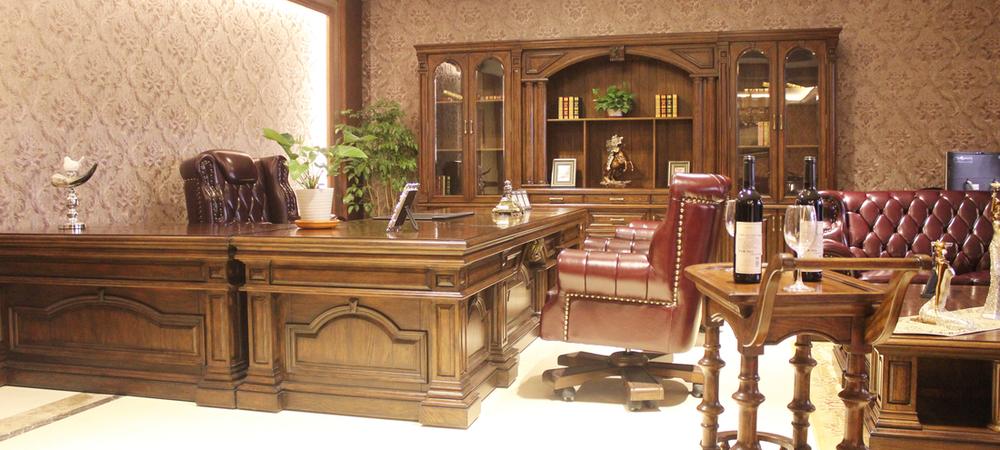 高端美式总裁办公室