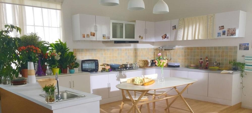 现代厨房-客厅-书房实景影棚
