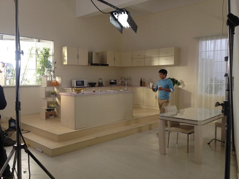 现代厨房-客厅-书房实景影棚_环境图片
